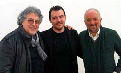 Antonio Nunziante con Davide Foschi e Athos Faccincani