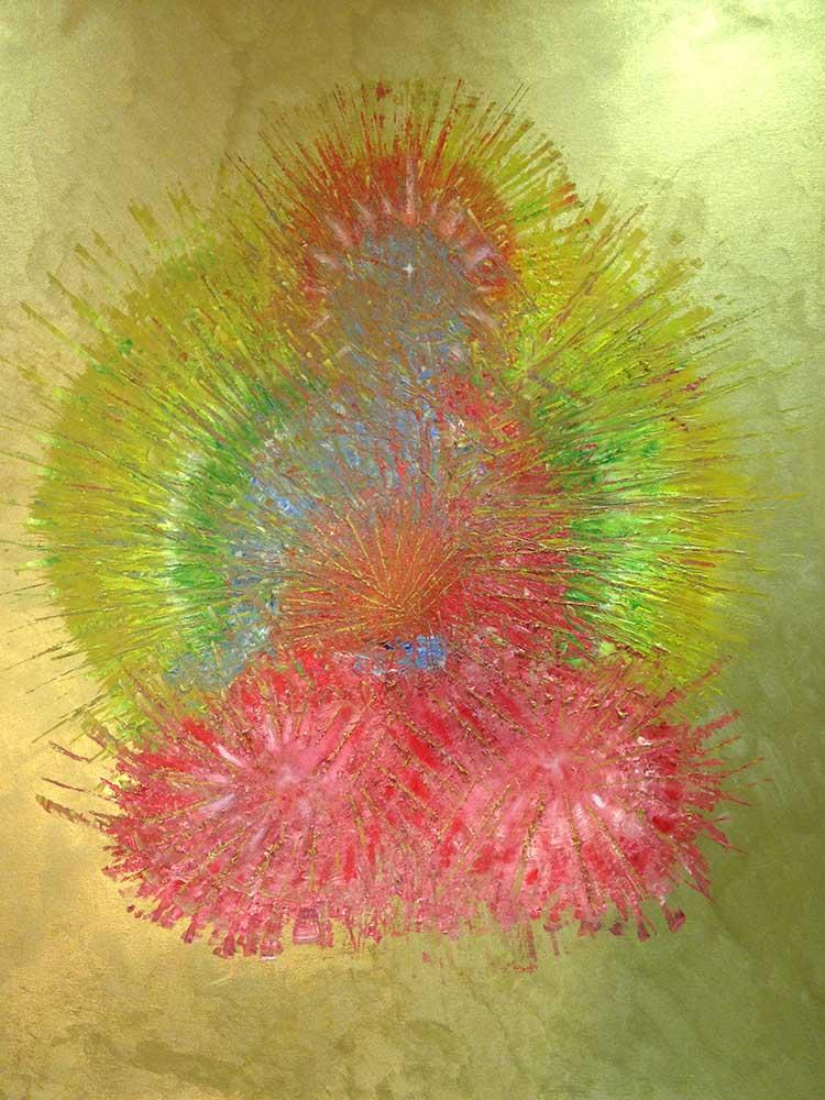 Olio su tela  cm 120  x 100  - 2012