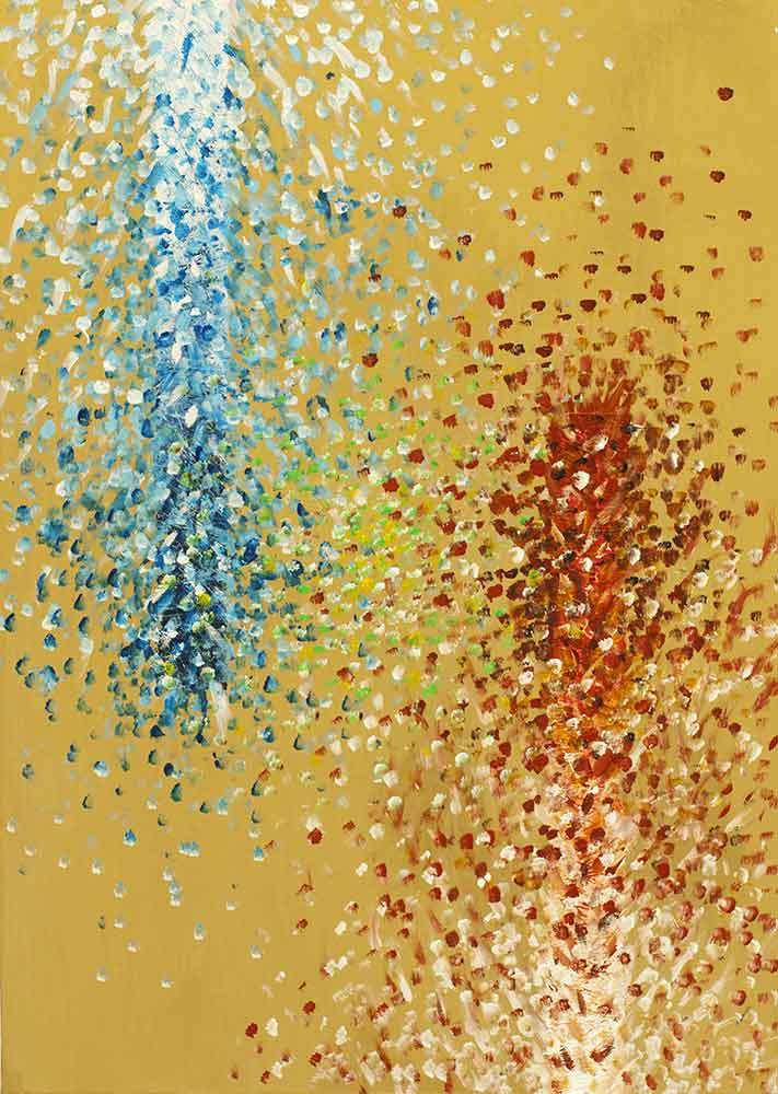 Olio su tela  cm 60  x 40  - 2011  - <span class='venduta'> Collezione privata</span>