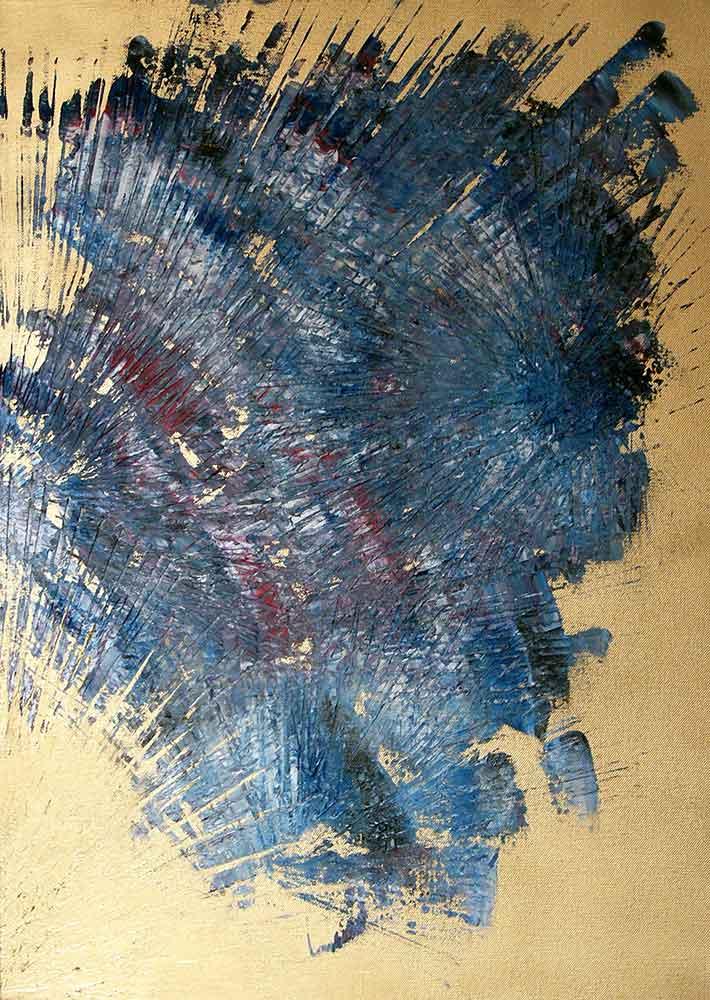 Olio su tela  cm 70  x 50  - 2009  - <span class='venduta'> Collezione privata</span>