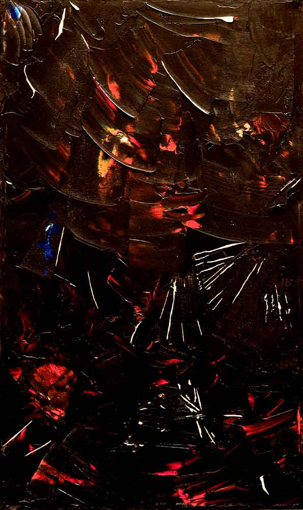 Olio su tela  cm 80  x 50  - 2011  - <span class='venduta'> Collezione privata</span>