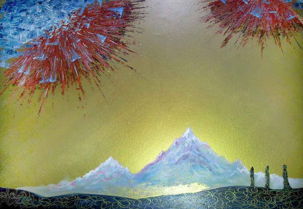 Olio su tela  cm 70  x 100  - 2012  - <span class='venduta'> Collezione privata</span>