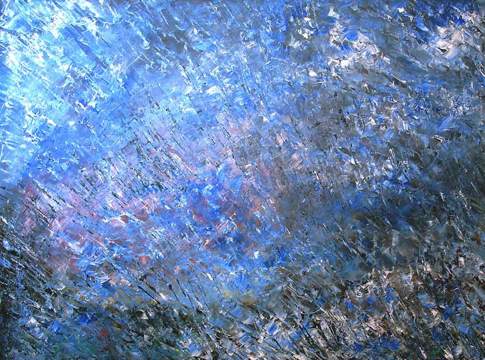 Olio su tela  cm 60  x 80  - 2004