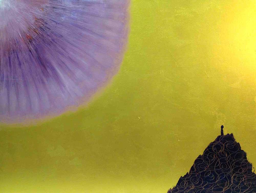 Legno dorato  cm 60  x 80  - 2013