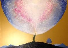 Davide Foschi - L'illuminato – olio su tela - 2013