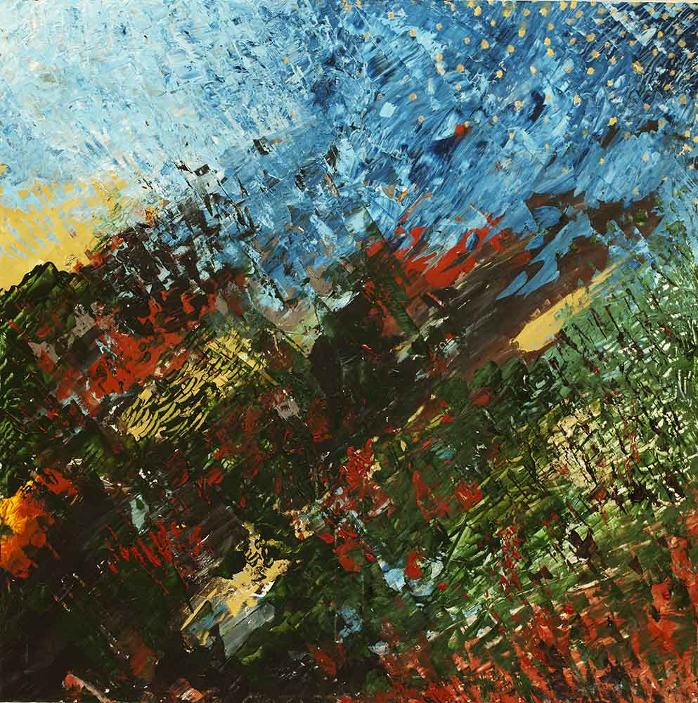 Olio su tela  cm 100  x 100  - 2012
