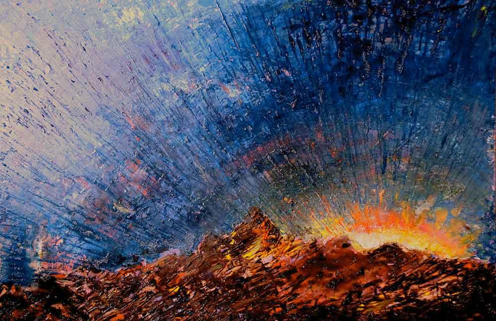 Olio su tela  cm 80  x 100  - 2012