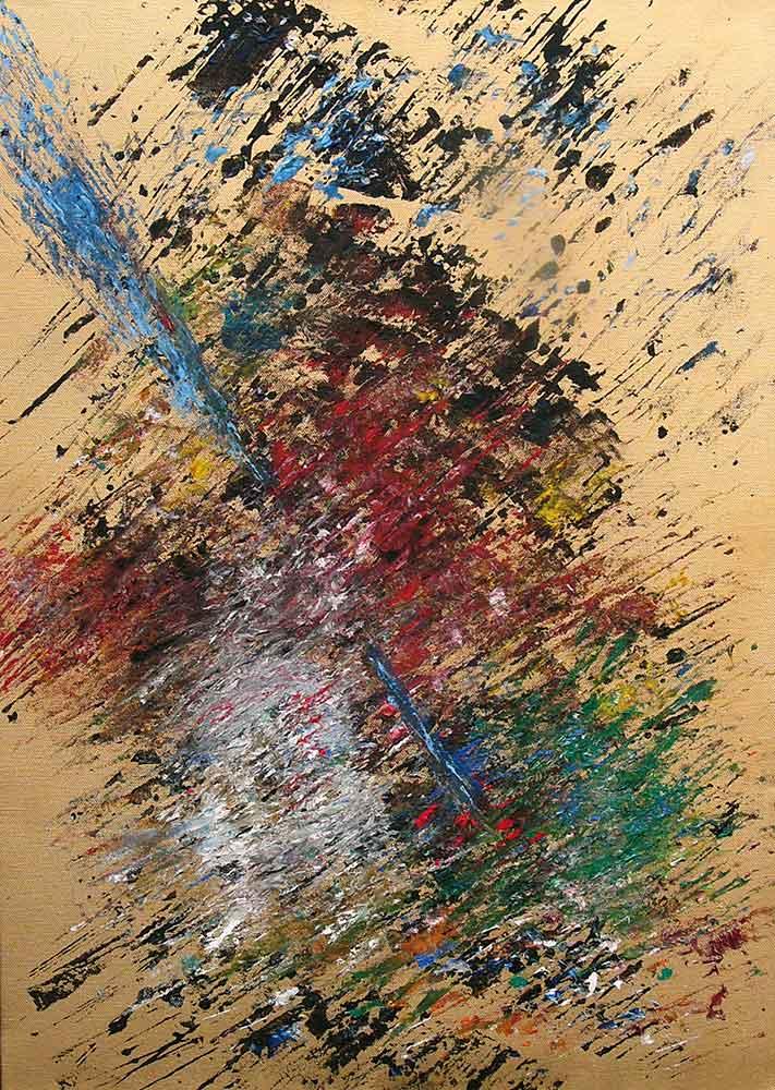 Olio su tela  cm 80  x 60  - 2008  - <span class='venduta'> Collezione privata</span>