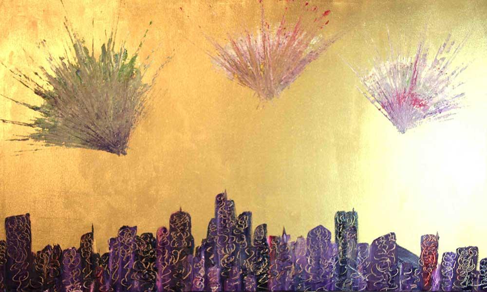 Olio su tela  cm 70  x 100  - 2012