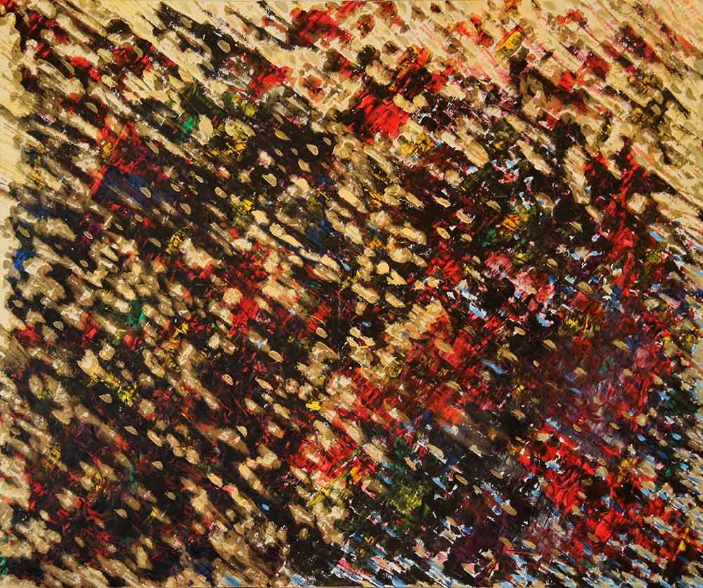 Olio su tela  cm 100  x 120  - 2010
